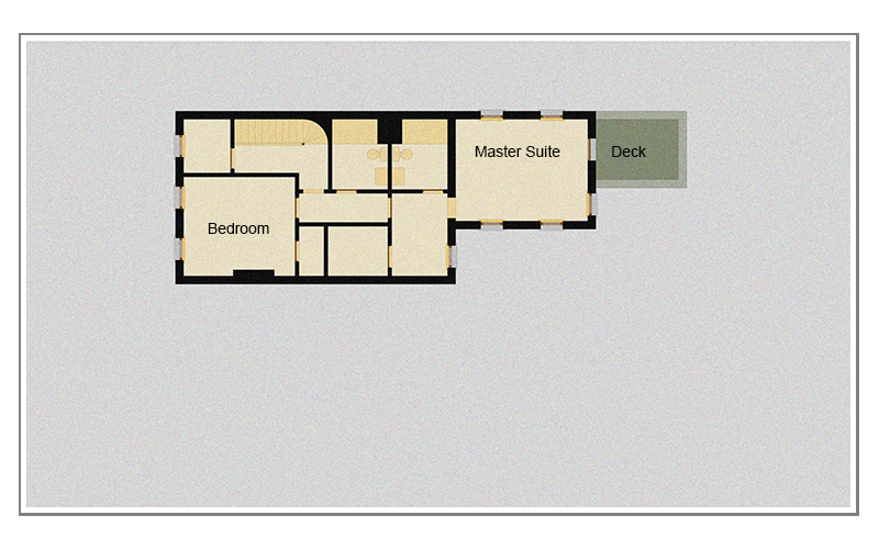 WICKER PARK. 2137 West Schiller Street.  Second Floor Plan